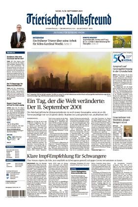 Trierischer Volksfreund - Zeitung für Bitburg-Prüm (11.09.2021)