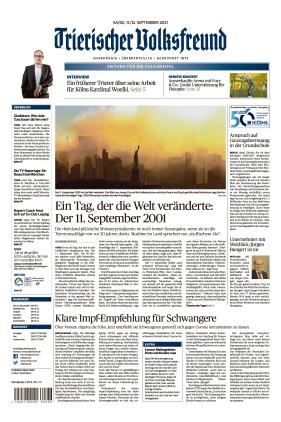 Trierischer Volksfreund - Zeitung für die Vulkaneifel (11.09.2021)