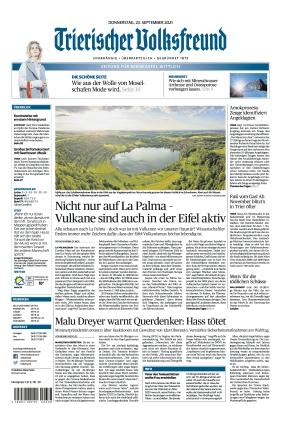 Trierischer Volksfreund - Zeitung für Bernkastel-Wittlich (23.09.2021)