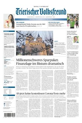 Trierischer Volksfreund - Zeitung für Bernkastel-Wittlich (11.10.2021)
