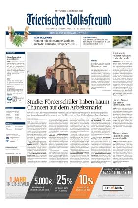 Trierischer Volksfreund - Zeitung für Bernkastel-Wittlich (13.10.2021)