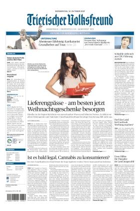 Trierischer Volksfreund - Zeitung für Bernkastel-Wittlich (14.10.2021)