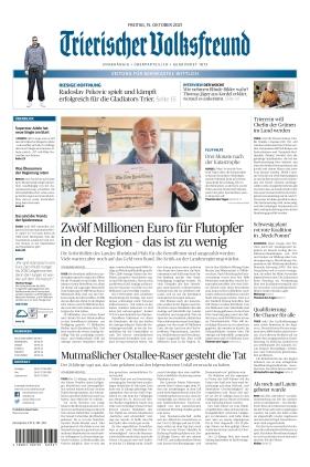 Trierischer Volksfreund - Zeitung für Bernkastel-Wittlich (15.10.2021)