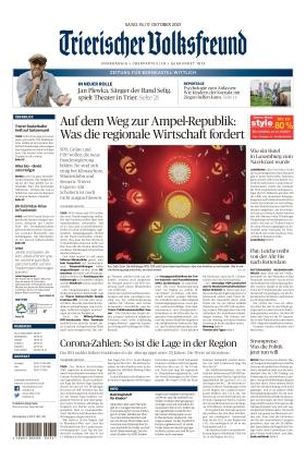 Trierischer Volksfreund - Zeitung für Bernkastel-Wittlich (16.10.2021)