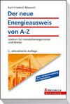 Der neue Energieausweis von A-Z