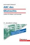 Vergrößerte Darstellung Cover: ABC des Mietrechts. Externe Website (neues Fenster)