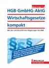 Vergrößerte Darstellung Cover: HGB, GmbHG, AktG - Wirtschaftsgesetze kompakt. Externe Website (neues Fenster)