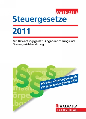 Steuergesetze 2011