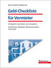 Geld-Checkliste für Vermieter