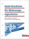 Geld-Checkliste für Wohnungseigentümer