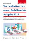 Taschenlexikon des neuen Beihilferechts Ausgabe 2015