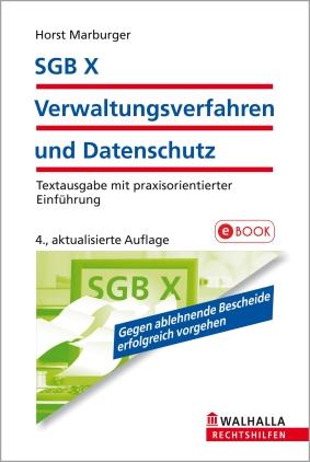 SGB X - Verwaltungsverfahren und Datenschutz
