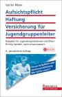 Vergrößerte Darstellung Cover: Aufsichtspflicht, Haftung, Versicherung für Jugendgruppenleiter. Externe Website (neues Fenster)