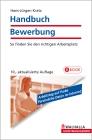 Vergrößerte Darstellung Cover: Handbuch Bewerbung. Externe Website (neues Fenster)