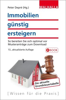 Immobilien günstig ersteigern