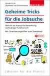 Vergrößerte Darstellung Cover: Geheime Tricks für die Jobsuche. Externe Website (neues Fenster)