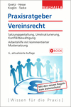 Vergrößerte Darstellung Cover: Praxisratgeber Vereinsrecht. Externe Website (neues Fenster)