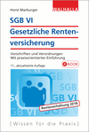 Vergrößerte Darstellung Cover: SGB VI, Gesetzliche Rentenversicherung. Externe Website (neues Fenster)