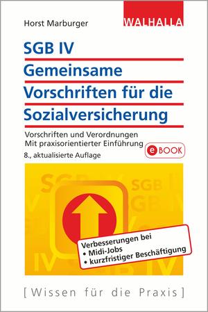 SGB IV - gemeinsame Vorschriften für die Sozialversicherung