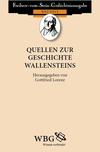 Quellen zur Geschichte Wallensteins