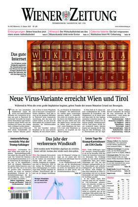 Wiener Zeitung (13.01.2021)