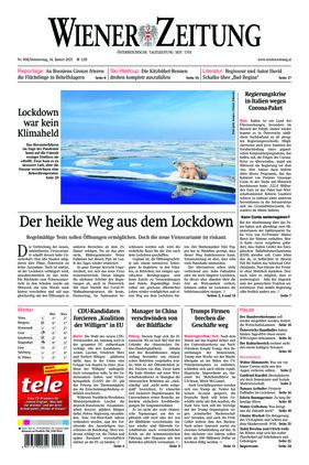 Wiener Zeitung (14.01.2021)