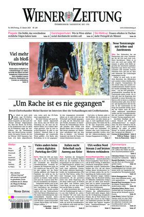 Wiener Zeitung (15.01.2021)