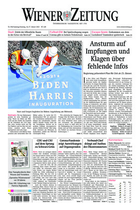 Wiener Zeitung (16.01.2021)