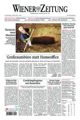 Wiener Zeitung (19.01.2021)