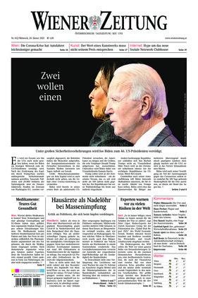 Wiener Zeitung (20.01.2021)