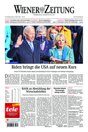 Wiener Zeitung (21.01.2021)