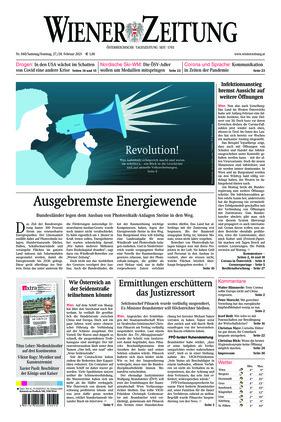Wiener Zeitung (27.02.2021)