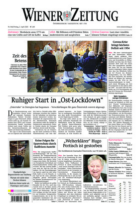 Wiener Zeitung (02.04.2021)