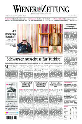 Wiener Zeitung (03.04.2021)