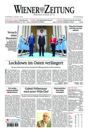 Wiener Zeitung (07.04.2021)