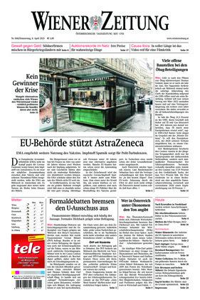 Wiener Zeitung (08.04.2021)