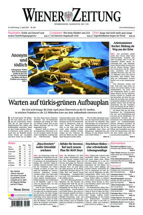 Wiener Zeitung (09.04.2021)