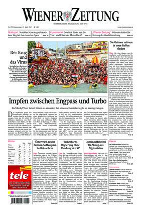 Wiener Zeitung (15.04.2021)