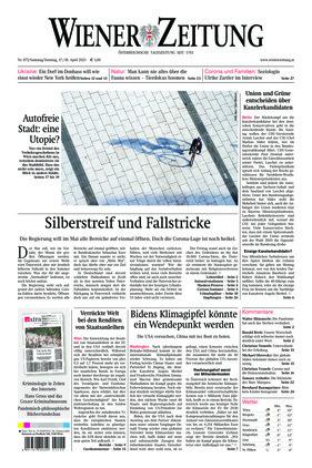 Wiener Zeitung (17.04.2021)