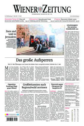 Wiener Zeitung (11.05.2021)