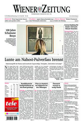 Wiener Zeitung (12.05.2021)
