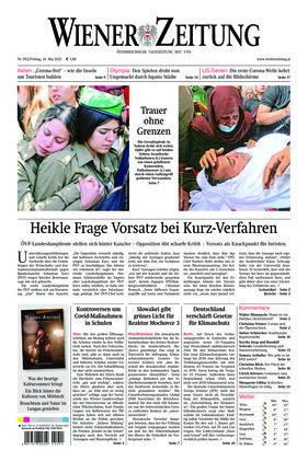 Wiener Zeitung (14.05.2021)