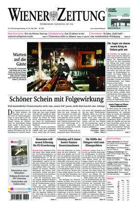 Wiener Zeitung (15.05.2021)