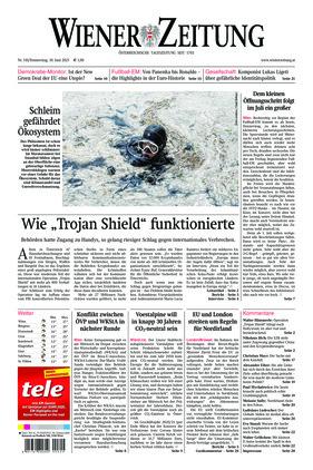 Wiener Zeitung (10.06.2021)