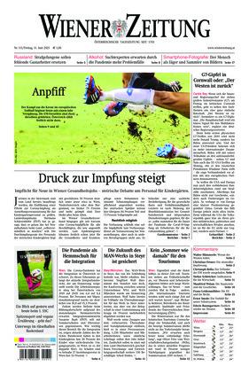 Wiener Zeitung (11.06.2021)