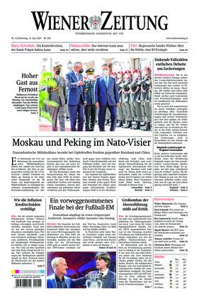 Wiener Zeitung (15.06.2021)