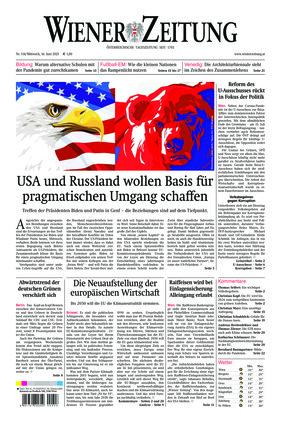 Wiener Zeitung (16.06.2021)