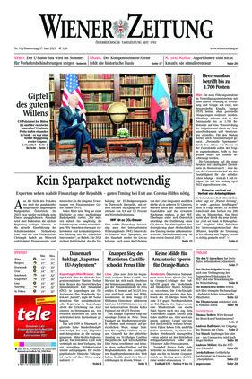 Wiener Zeitung (17.06.2021)