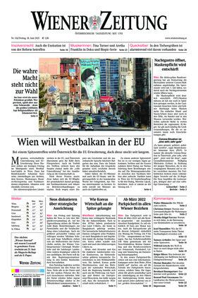 Wiener Zeitung (18.06.2021)