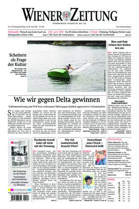 Wiener Zeitung (19.06.2021)